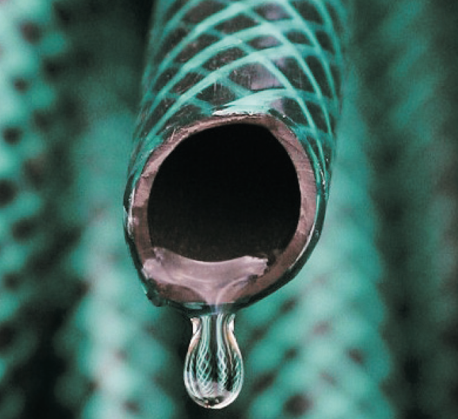 A hose pipe to fill your spa